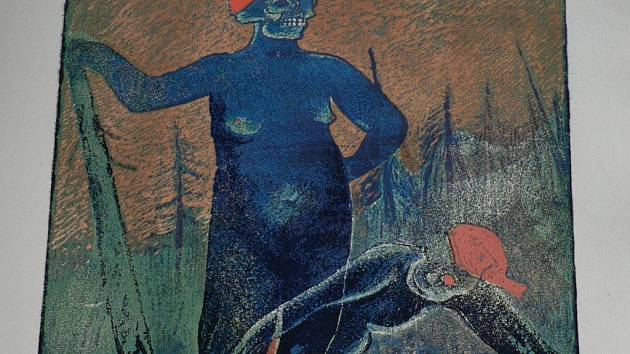 Šumava umírající a romantická, Josef Váchal