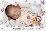 Markétka Smetanová se narodila Markétě Smetanové a Pavlu Maruškovi 9. 3. 2018  ve 22.11 h. Vážila 2,76 kg. Vyroste ve Dřítni s téměř dvouletou sestřičkou Marií Annou.