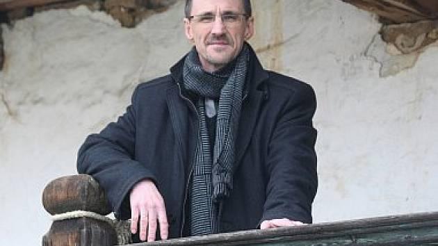 Petr Pavelec, ředitel Územní památkové správy Národního památkového ústavu pro Jihočeský, Plzeňský a Kraj Vysočina.
