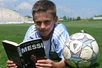 Talentovaný fotbalista Lukáš Pfeifer