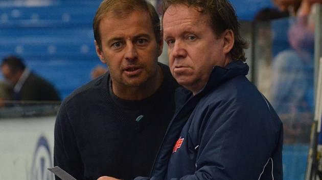Radek Bělohlav (vlevo) a Petr Rosol
