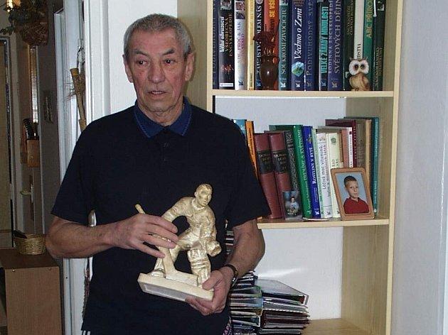 Brankář Jan Vodička slaví osmdesátiny