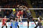 Jihostroj České Budějovice prohrál v hale týmu Lube Cucine Civitanova 1:3.