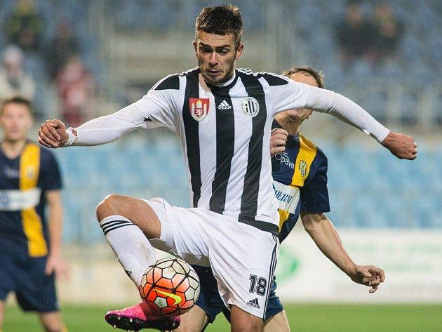 MIlan Jurdík dal v Opavě první gól Dynama.