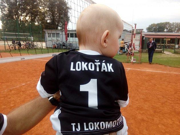 Nejmenší člen 'lokoťácké' volejbalové rodiny