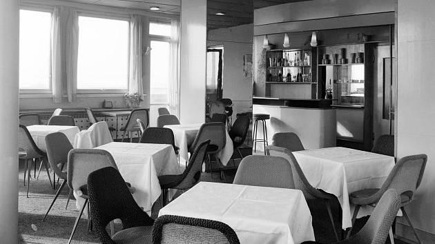 Někdejší prostor kavárny bude k vidění na fotografické výstavě v rámci Dnů otevřených dveří Perly.