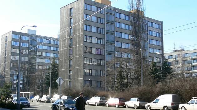 Panelové domy na Lidické třídě v Českých Budějovicích mají investice do zateplení teprve před sebou.