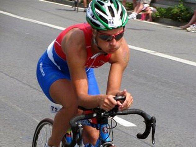 Na kole se Petra Krejčová cítí jako ryba ve vodě.