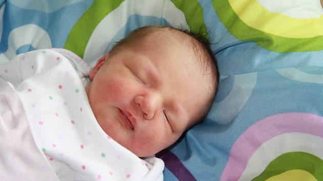 Anna Lišková z Nových Homolí. Dcera Zuzany a Petra Liškových se narodila 19. 5. 2021 v 9.17 hodin. Při narození vážila 3200 g. Doma se na sestřičku těšili sourozenci Emma (12), Ella (7) a Max (7).