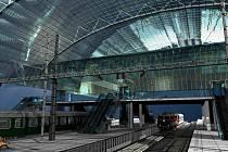 Rekonstrukce by měla v příštích letech zcela proměnit českobudějovické vlakové nádraží.