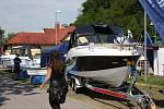 Lodě, rybáři, záchranáři nebo výletní trasy, to vše bylo náplní Festivalu vodní turistiky v sobotu v Hluboké nad Vltavou.
