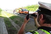 Policisté při akci Rychlost zaznamenali stovky přestupků. Výjimkou nebyly ani jižní Čechy.