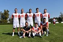 Prvního ročníku Zaměstnanecké ligy Deníku se v účastnil také tým VŠTE.