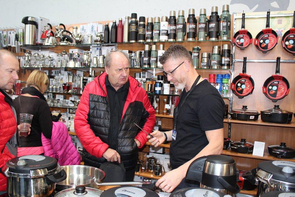 Kulinářská akce v Českých Budějovicích měla tradičně bohatou nabídku a spoustu návštěvníků.