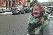 Kateřina Váchová, Jihočeška žijící v Londýně.Foto: archiv Kateřiny Váchové