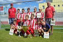 Turnaj v Písku vyhráli fotbalisté z Banské Bystrice.