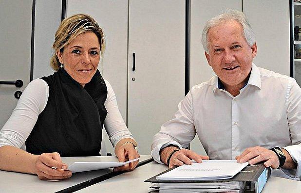 Simona Finková a Herbert Unnasch.