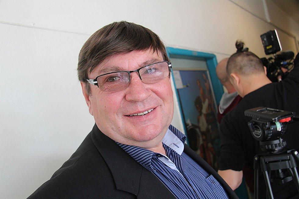 V pondělí dopoledne padla krajská koalice ČSSD, ANO a Jihočechů 2012. Na snímku Předseda hnutí JIHOČEŠI 2012 Pavel Hroch.