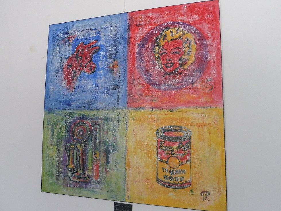Na třicet umělců připravilo pro výstavu Factory Tour dílo inspirované pop artem a Andy Warholem.