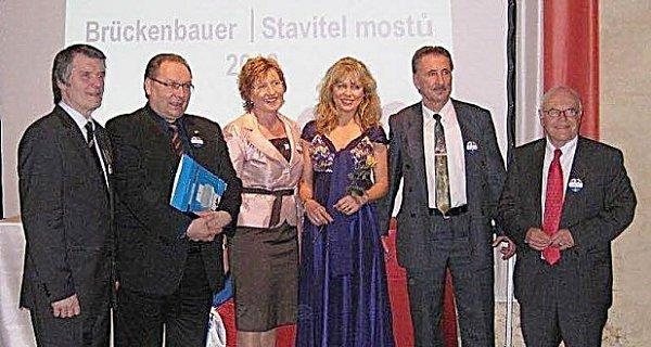 Horst Frickinger vlevo.