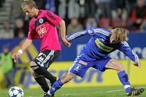 Rudolf Otepka v Olomouci dal gól a trefil tyč, přesto po zápase spokoien nebyl: jeho tým prohrál 1:5.