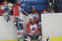 Hokejisté David servisu porazili doma Strakonice 5:2 a vedou ve finále 1:0 na zápasy.