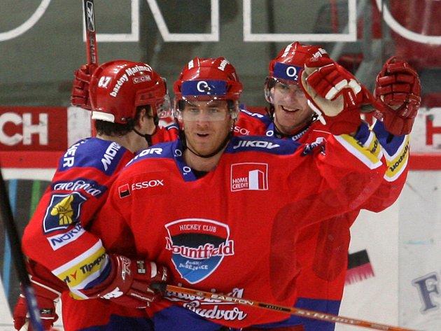 Útočník HC Mountfield Tomáš Kůrka.