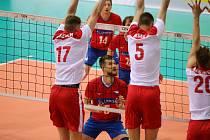 Jindřichův Hradec se proměnil v centrum volejbalu. Hrát tu bude národní tým.