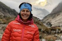 Fenomenální horolezkyně.