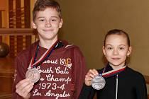 S Barborou Kucianovou vybojovali pro BK ČB bronz a stříbro.