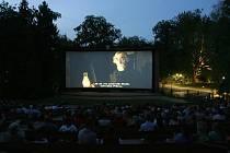 Letní kino Háječek v Českých Budějovicích.