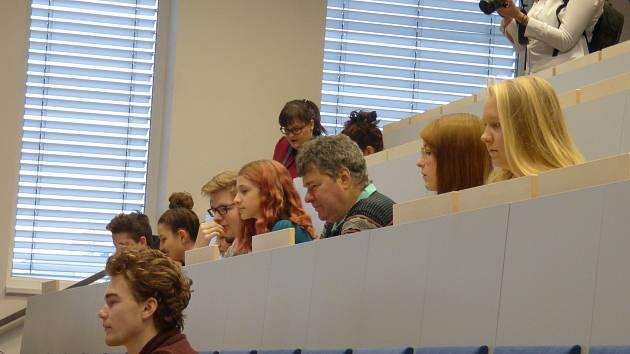 Ve středu se na Filozofické fakultě Jihočeské univerzity v Českých Budějovicích uskutečnil cyklus popularizačních přednášek Jak se dělá věda.