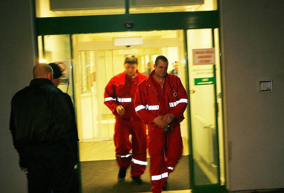 Včeskobudějovické nemocnici vypukl požár
