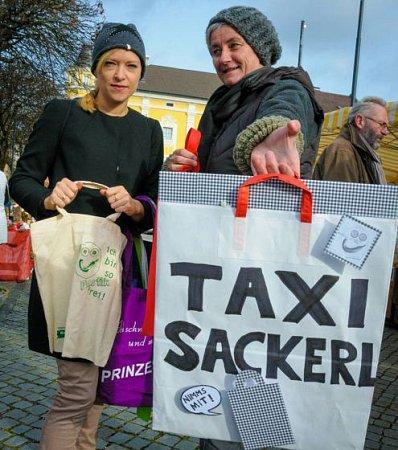 Trhovkyně bojují proti plastovým obalům.