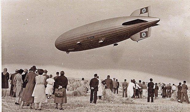 Zeppelin nad Viechtachem.
