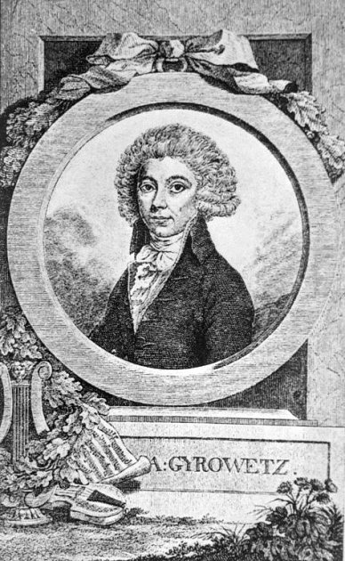 Skladatel Vojtěch Jírovec (1763 – 1850).