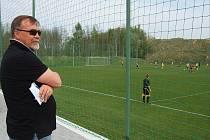 Zdeněk Machoň sleduje zápasy mládeže