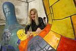 Alexandra Koláčková je v Budějicích již známá z Umění ve městě.