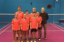 V sobotu se od 13.00 bude v Č. Krumlově hrát extraliga badmintonových týmů.