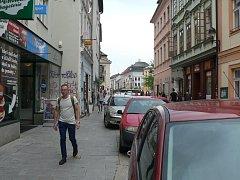 Budějovická Kanovnická ulice by se měla stát pěší zónou.