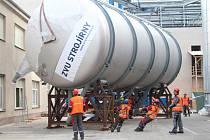 Nové tanky pro českobudějovický Budvar