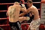 Galavečer bojových umění v pravidlech boje K1 rules a Muay Thai Gladiators Pardál night v českobudějovické Gerbeře.