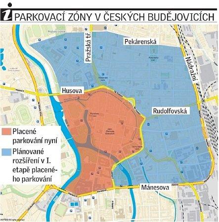 Rozšíření parkovacích zón.