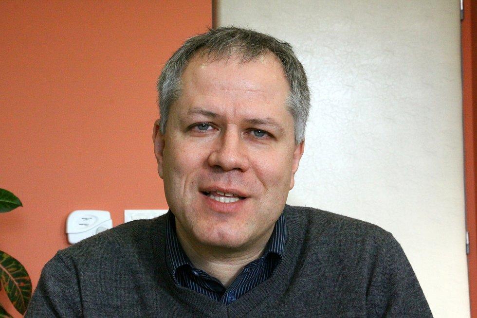 Rektor Jihočeské univerzity Tomáš Machula.