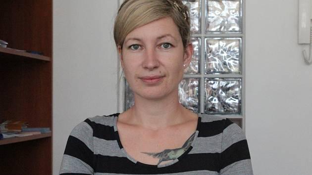 Lenka Suková z poradny Bílého kruhu bezpečí v Riegrově ulici nabízí pomoc obětem násilných trestných činů.