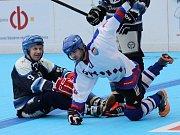 Na jihu začíná o víkendu 22.-23. dubna play off II. ligy hokejbalistů. Hned první kolo vyřazovacích bojů svede dva městské rivaly, obhájce prvenství Betonova All Stars (dříve Holubov) zkříží hole s Pedagogem České Budějovice. Vítěz postoupí do semifinále.