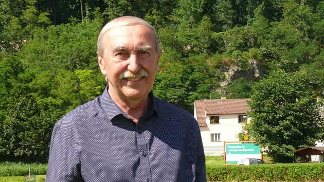 Setkání sportovních osobností pod hlubockým zámkem, Jiří Holeček