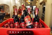 Sezónní pivo Budvaru - višňový ležák B:Cherry.