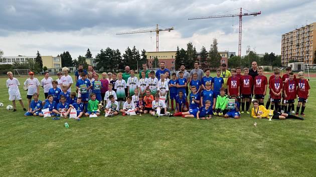 První a vydařený ročník turnaje pro mladé fotbalisty uspořádal SK Čtyři Dvory.