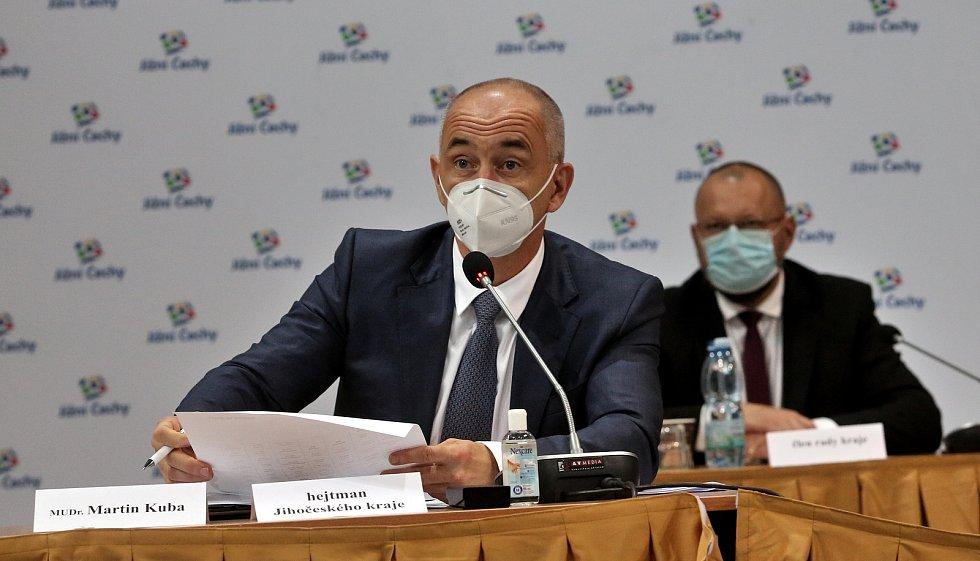 Nový jihočeský hejtmana Martin Kuba.
